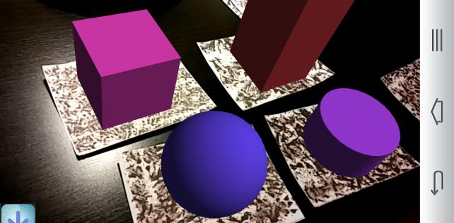 Polyèdres augmentés – Android/iOS